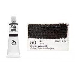 Renesans olajfesték 60ml, carbon black - szénfekete 50