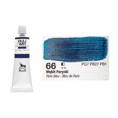Renesans olajfesték 60ml, Paris blue - párizsi kék 66