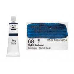 Renesans olajfesték 60ml, Berlin blue - berlini kék 68