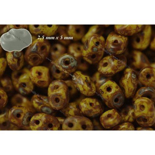 Superduo, citrom foltokban barna bevonattal, 10g