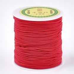 Selyemszál piros, átm.:1,5mm vastag (belső szállal erősítve)