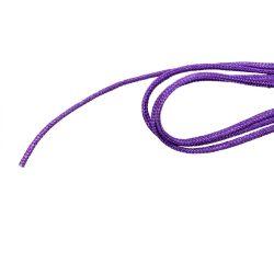 Selyemszál, lila, méterben, átm.: 1,5mm