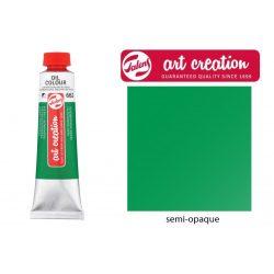 Talens Art Creation olajfesték 40ml - permanent zöld 662 (Permanent Green)