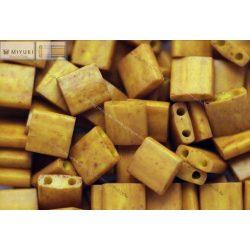 Miyuki TILA gyöngy, mustár sárga, 30 db
