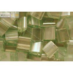 Miyuki TILA gyöngy, lüszteres tengeri szivacs zöld, 30 db