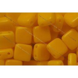 Kétlyukú négyzet, telt napraforgó sárga, 25 db