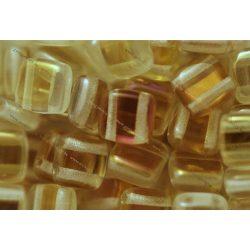 Kétlyukú négyzet, kristály – alkonyat, 25 db