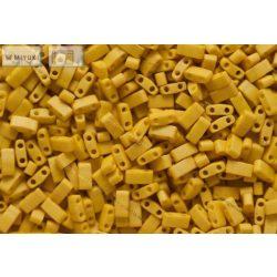 Miyuki Fél Tila, matt telt kanári sárga, 60 db