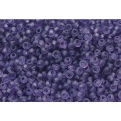 Magatama gyöngy, matt kék szílva, 10g