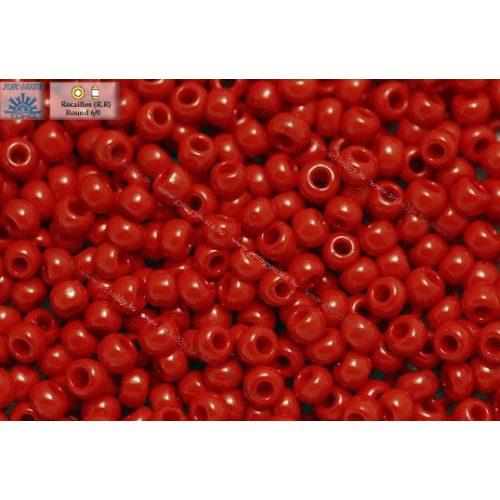 Japán kásagyöngy TOHO 6/0, telt cseresznye piros, 10g