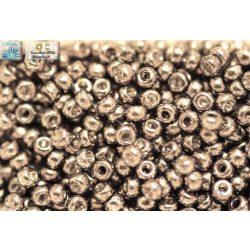 Japán kásagyöngy TOHO 6/0, tartós kivitelben-galvanizált aluminium, 10g