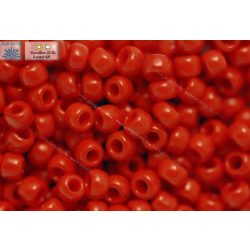 Japán kásagyöngy TOHO 8/0, telt cseresznye piros, 10g