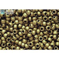 Japán kásagyöngy TOHO 11/0, telt matt bronz, 10g