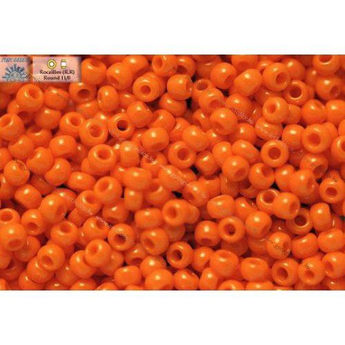 Japán kásagyöngy TOHO 11/0, telt narancs, 10g