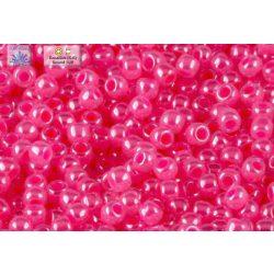 Japán kásagyöngy TOHO 11/0, ceylon erős rózsaszín, 10g
