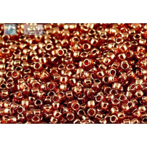 """Japán kásagyöngy TOHO 15/0, """"African sunset"""", arany lüszteres, 5g"""