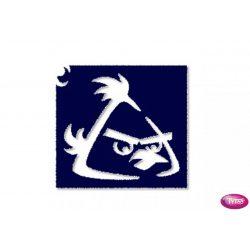 Tytoo testfestő minta sablon 5x5cm AB-02 Angry Birds madár