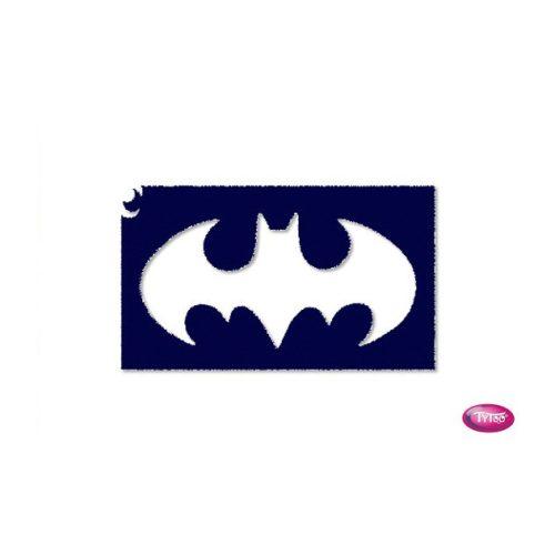 Tytoo testfestő minta sablon 5x8cm tA-358 Batman