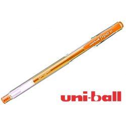 Uni Ball, zselés toll, fluoreszkáló narancs 0,7mm