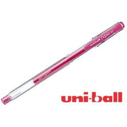 Uni Ball, zselés toll, fluoreszkáló pink 0,7mm