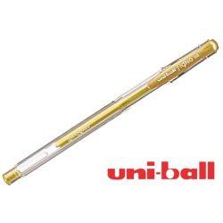 Uni Ball, zselés toll, arany 0,7mm