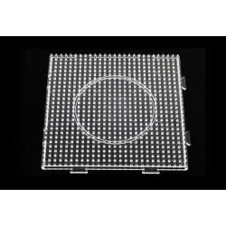 Alaplap vasalható gyöngyhöz,  négyzet (összeilleszthető)