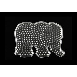 Alaplap vasalható gyöngyhöz, elefánt
